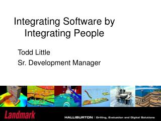 Integrating Software by Integrating People