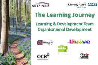 The Learning Journey Learning & Development Team Organisational Development