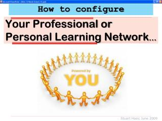 Your Professional or Personal Learning Network ...