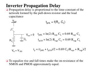 Inverter Propagation Delay