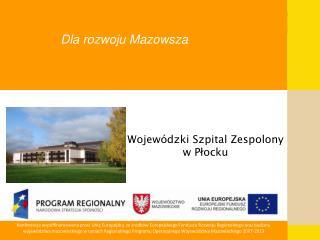 Dla rozwoju Mazowsza