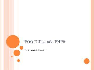 POO Utilizando PHP5
