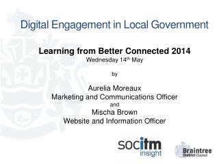 Digital Engagement in Local Government