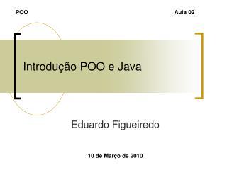 Introdução POO e Java