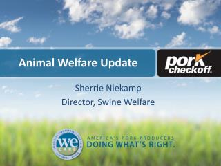 Animal Welfare Update