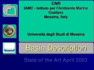 Basin Description
