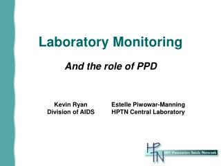 Laboratory Monitoring