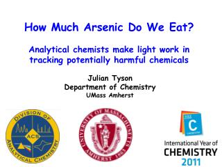 How Much Arsenic Do We Eat?