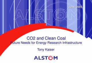 CO2 and Clean Coal  Future Needs for Energy Research Infrastructure