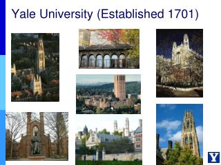 Yale University (Established 1701)