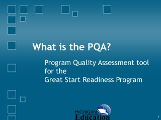 What is the PQA?