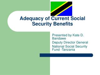 Adequacy of Current Social Security Benefits