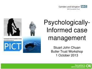 Stuart John Chuan Butler Trust Workshop 1 October 2013