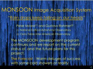 MONSOON Image Acquisition System