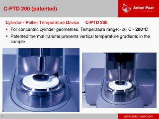 C-PTD 200 (patented)