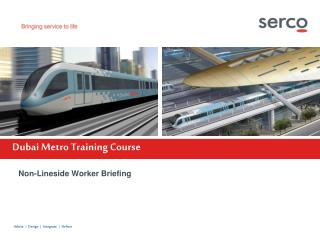 Dubai Metro Training Course