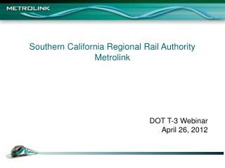 Southern California Regional Rail Authority  Metrolink