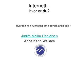 Internett... hvor er du