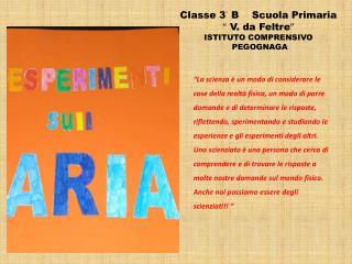 """Classe 3° B    Scuola Primaria  """"  V. da Feltre """" ISTITUTO COMPRENSIVO   PEGOGNAGA"""