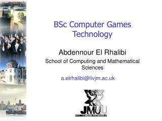 BSc Computer Games Technology