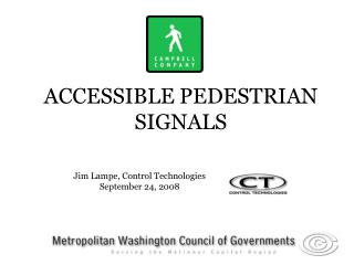 ACCESSIBLE PEDESTRIAN SIGNALS