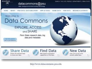 datacommons.psu