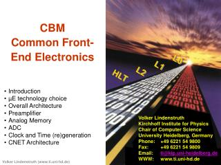 CBM Common Front-End Electronics