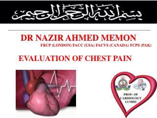 DR NAZIR AHMED MEMON