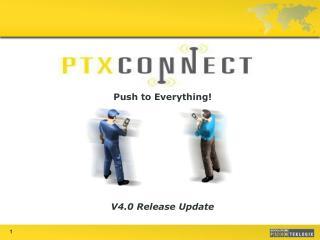 V4.0 Release Update