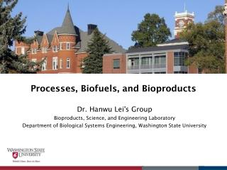 Processes, Biofuels, and Bioproducts