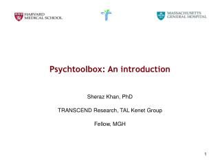 Psychtoolbox: An introduction