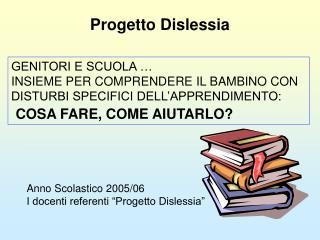 Progetto Dislessia