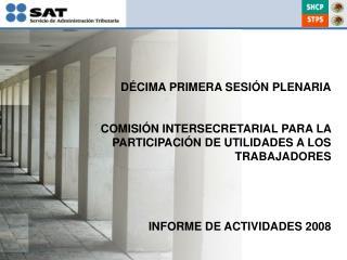 INFORME DE ACTIVIDADES 2008