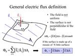General electric flux definition