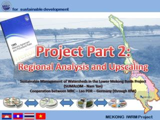 Project Part 2:   Regional Analysis and  Upscaling