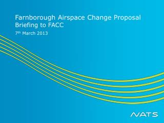 Farnborough Airspace Change Proposal
