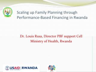 Scaling up Family Planning through Performance-Based Financing in Rwanda