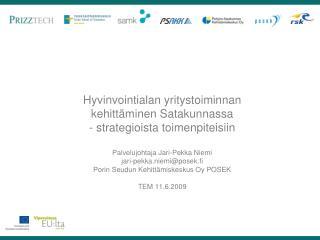 Kansalliset verkostot:  Aluekeskusohjelman Hyvinvointiverkosto 2007-2008