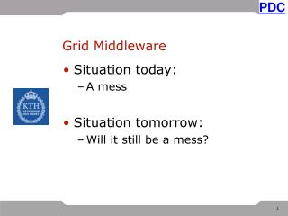 Grid Middleware