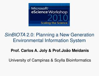 SinBIOTA  2.0: Planning a New Generation Environmental Information System