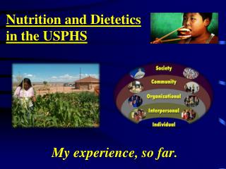 Nutrition and Dietetics  in the USPHS