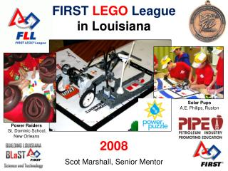 FIRST LEGO League in Louisiana