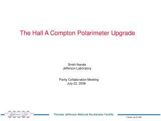 The Hall A Compton Polarimeter Upgrade