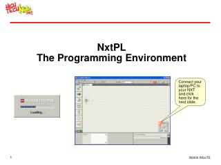 NxtPL The Programming Environment