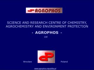 SCIENCE AND RESEARCH CENTRE OF CHEMISTRY,  AGROCHEMISTRY AND ENVIRONMENT PROTECTION