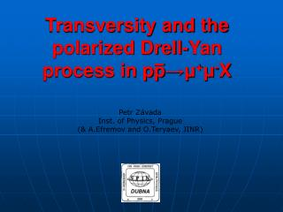 Transversity and the polarized Drell-Yan process in pp ? ? + ? - X