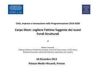 16 Dicembre 2013 Palazzo Medici-Riccardi, Firenze