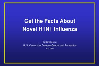 Novel H1N1 Influenza