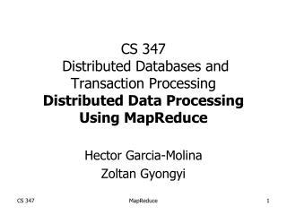 Hector Garcia-Molina Zoltan Gyongyi