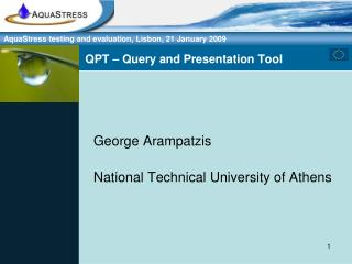 QPT – Query and Presentation Tool